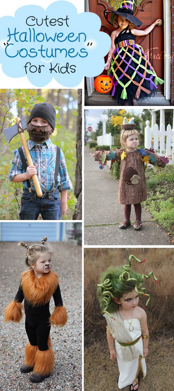 Lots of Cute Halloween Costumes for Kids!