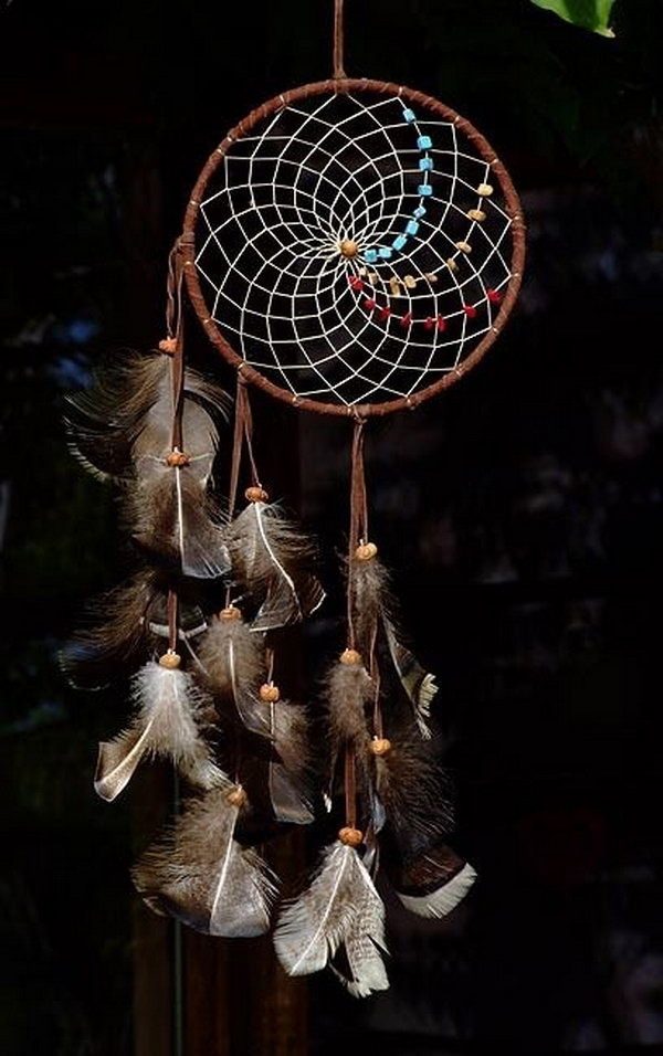Beautiful dream catcher ideas and tutorials noted list for Ideas for making dream catchers