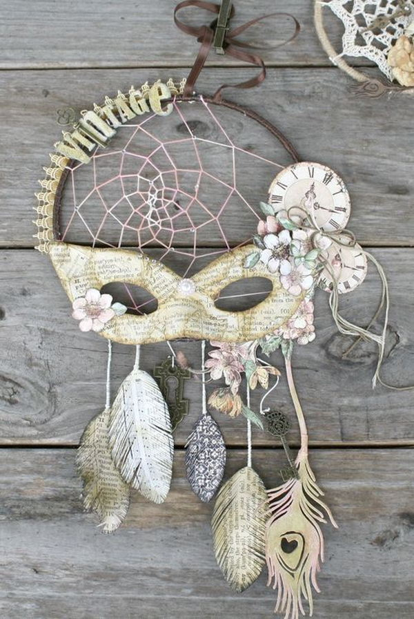 DIY Vintage Dream catcher.