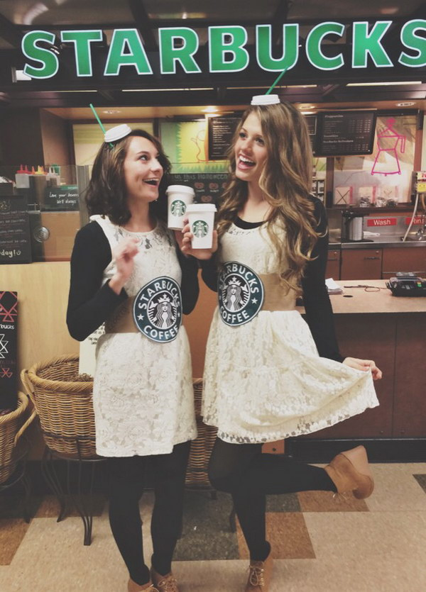 Cute Starbucks Halloween Costumes