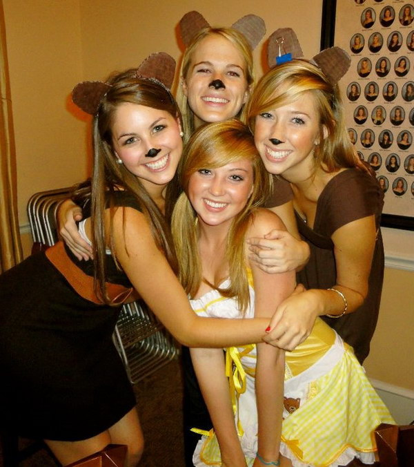 Goldilocks and the Three Bears Costumes