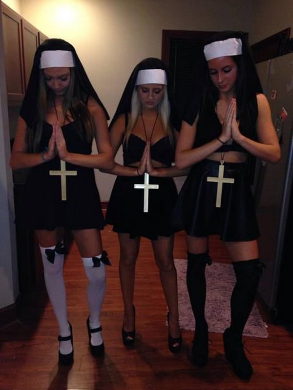 Holy Hell Group Costume