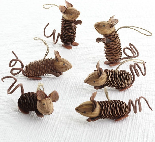 Mice Pinecone Friends.