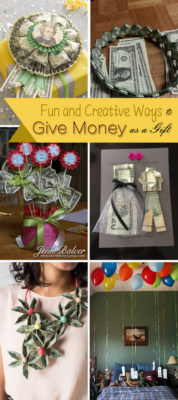 Fun and Creative Ways to Give Money as a Gift - Noted List