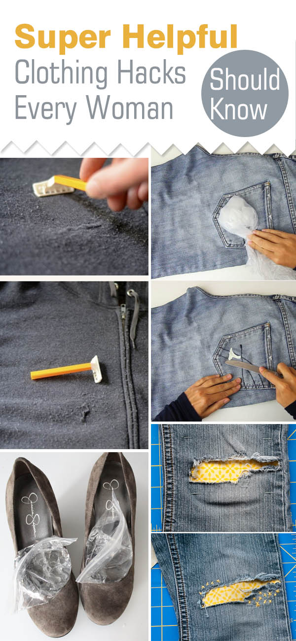 Creative and life saving hacks every woman should know!