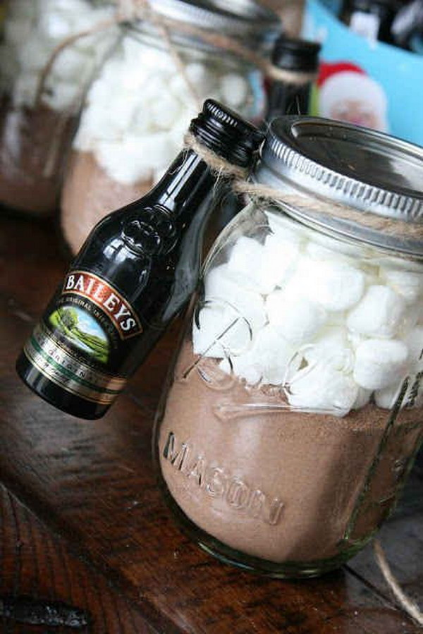 DIY Grown Up Hot Cocoa Kit.
