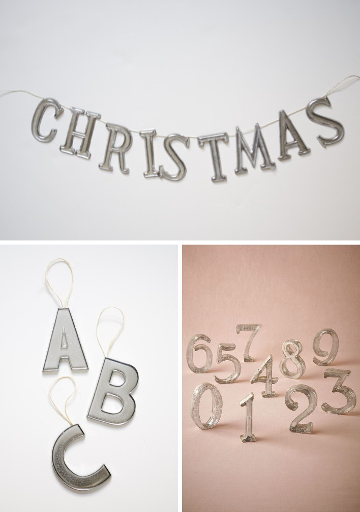 DIY Mercury Glass Letters