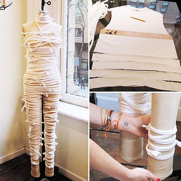Cool and Quick Woman Mummy Costume