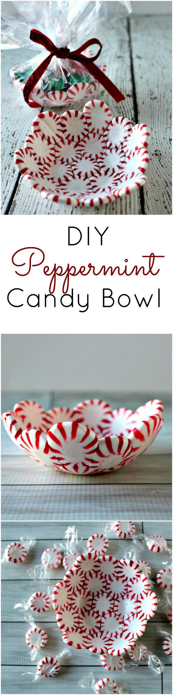 Peppermint Candy Bowl.