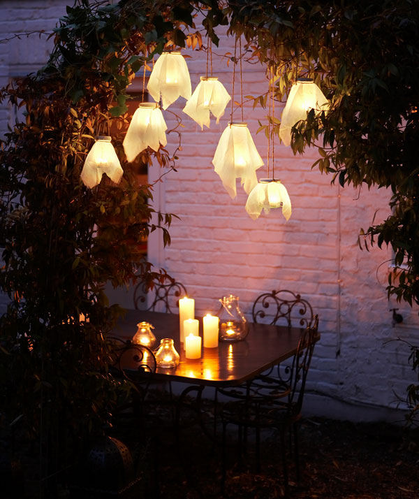 DIY Simple Garden Lights