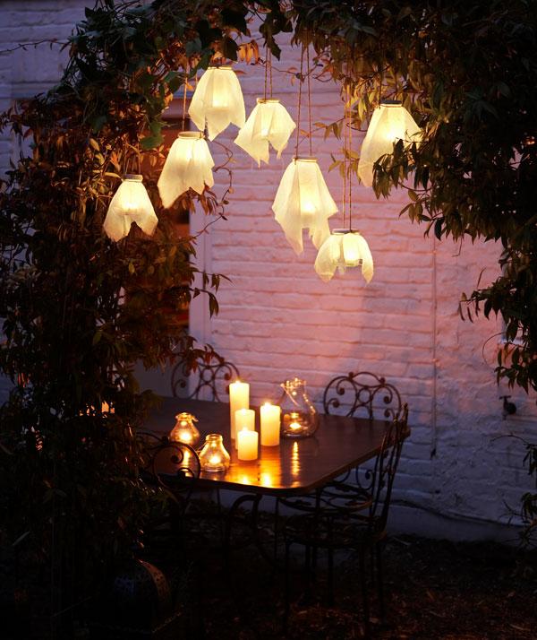 DIY Simple Garden Lights