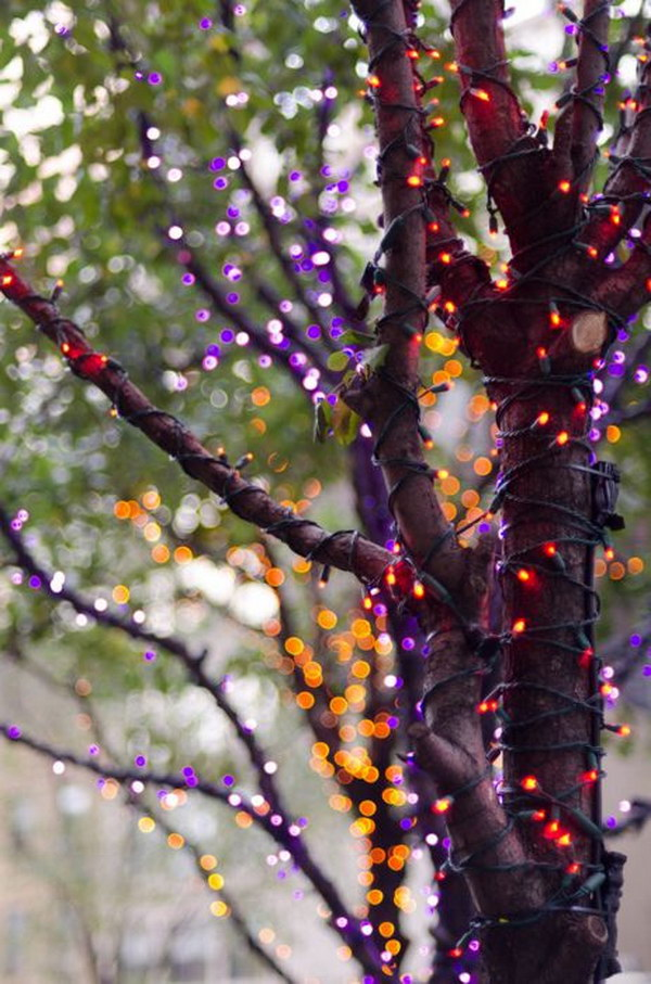 Diy Halloween String Lights : 25+ Spooky & Festive DIY Halloween Light Ideas - Noted List