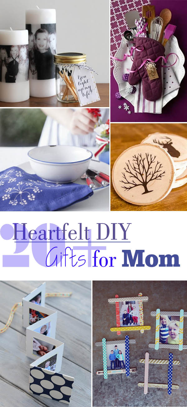 Heartfelt DIY Gifts for Mom.