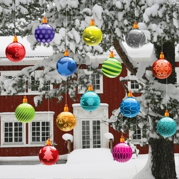20 most beautiful outdoor decoration ideas for christmas List of christmas ornaments