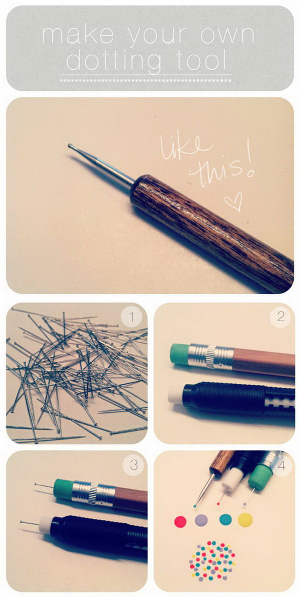 Make Your Own Dotting Tool.