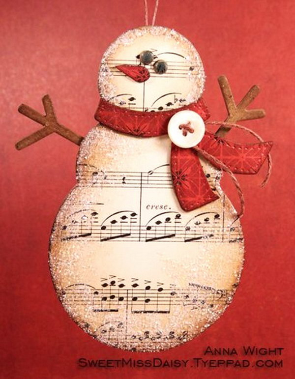 Snowman Christmas Cards Ideas.25 Diy Christmas Cards Ideas Tutorials Noted List