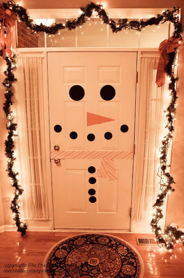20 Creative Diy Christmas Door Decoration Ideas Noted List