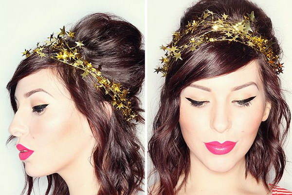 DIY Star Garland Crown