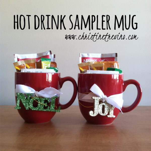 Hot Drink Sampler Mug.
