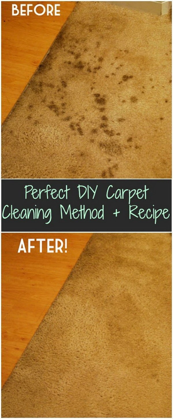Homemade Carpet Cleaning Solutions and Tips - Noted List