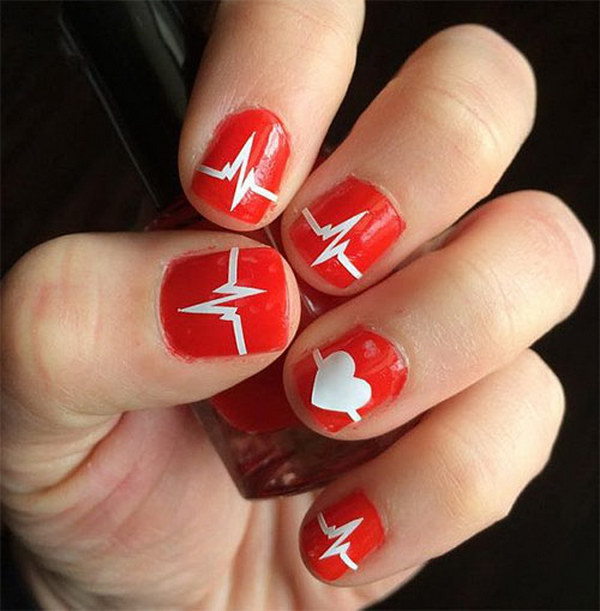 50 Cute Valentines Nail Designs With Hearts Noted List
