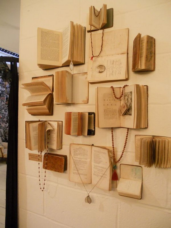 Diy Projects Made With Old Books