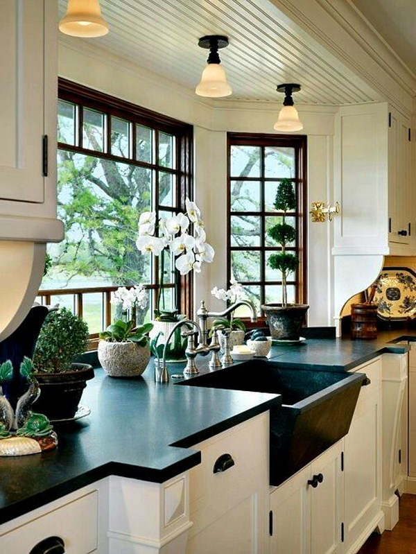 7 white kitchen countertops