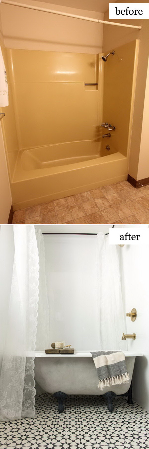 Incredible Cottage Farmhouse Bathroom Makeover