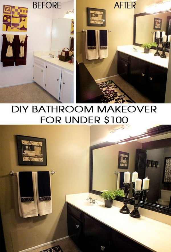 Amazing Transformation for Under $100 .