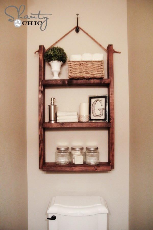 Hanging Bathroom Shelf for only $10.
