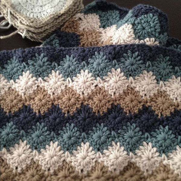 Free Crochet Patterns Using Afghan Stitch : 20+ Free Crochet Blanket Patterns with Lots of Tutorials ...