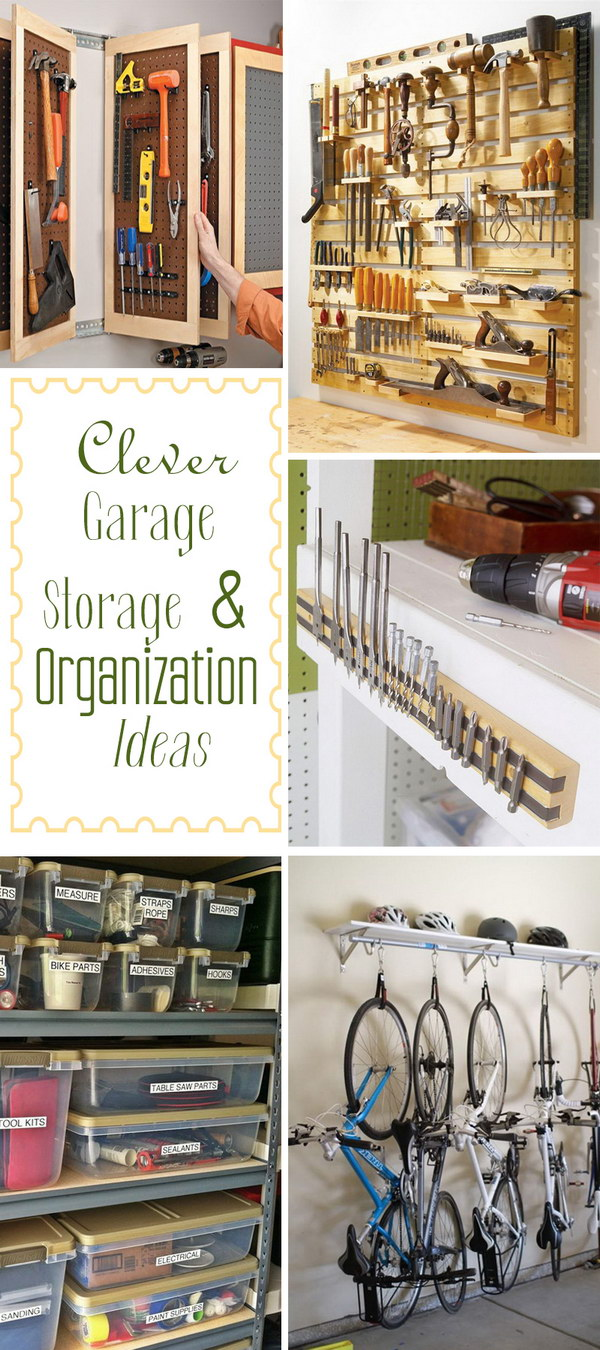Clever Garage Storage Amp Organization Ideas Noted List
