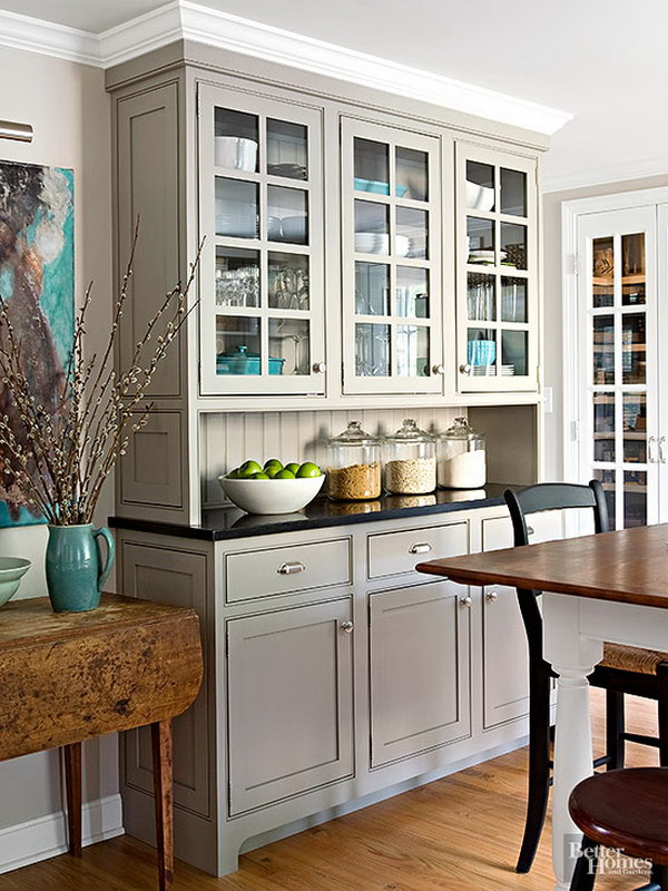 80 cool kitchen cabinet paint color ideas noted list for Small kitchen paint ideas