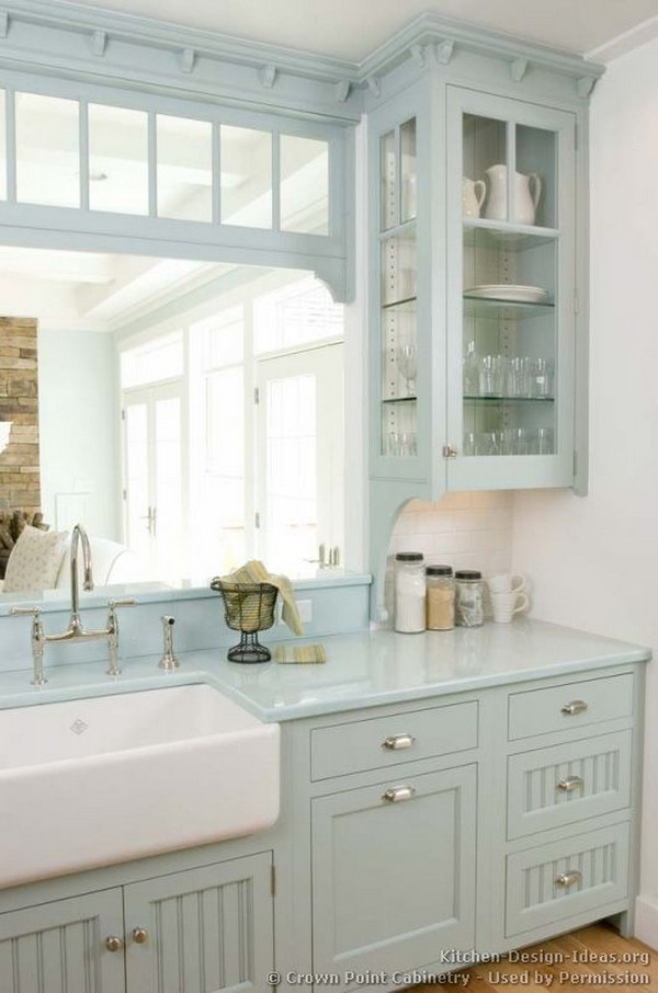 80 cool kitchen cabinet paint color ideas noted list - Images of kitchen paint colors ...