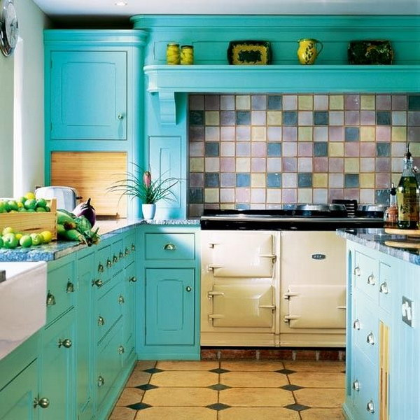 Kitchen Cabinets Colours: 80+ Cool Kitchen Cabinet Paint Color Ideas