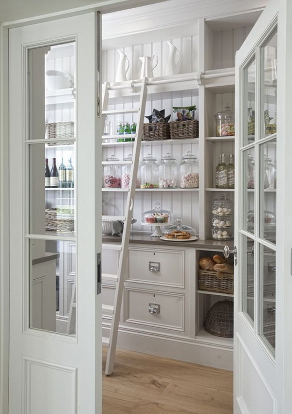 Gorgeous Large Kitchen Pantry.