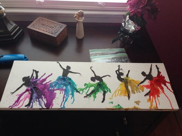 Use Acrylic Paint To Make Crayons