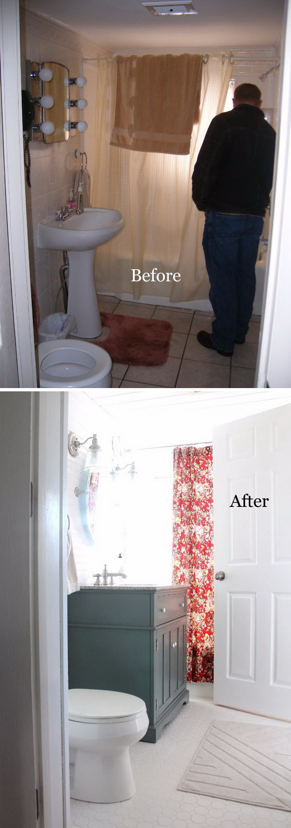 Downstairs Bathroom Remodel.