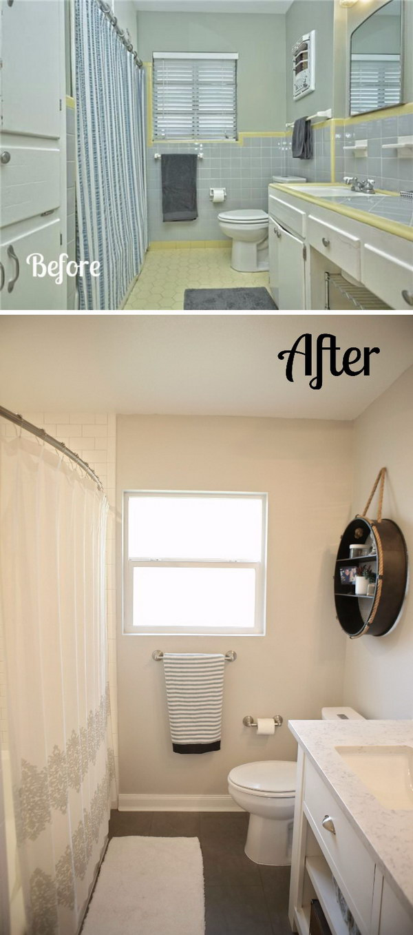 Before and After: 20+ Amazing Bathroom Makeovers - Noted List