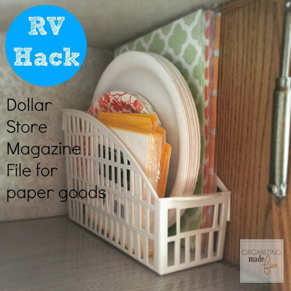 Cool Dollar Store Organizing Amp Storage Ideas