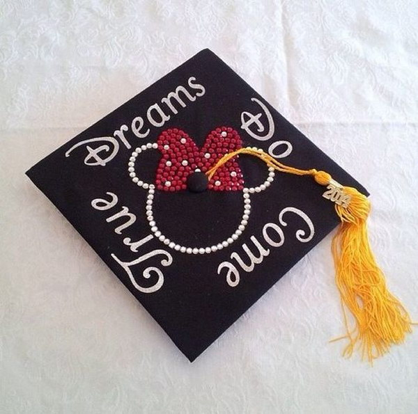 Cute Disney Graduation Cap