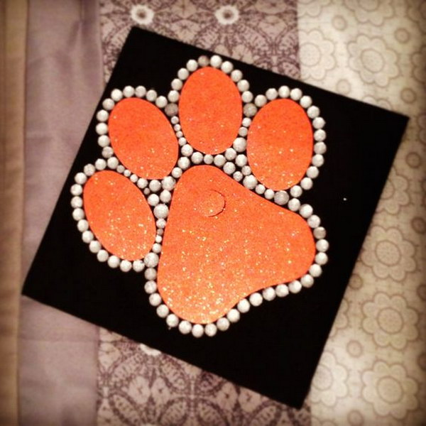 Cute Clemson Graduation Cap