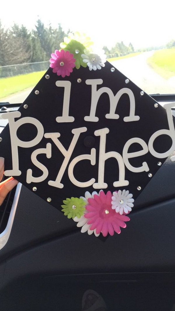 Psychology Graduation Cap