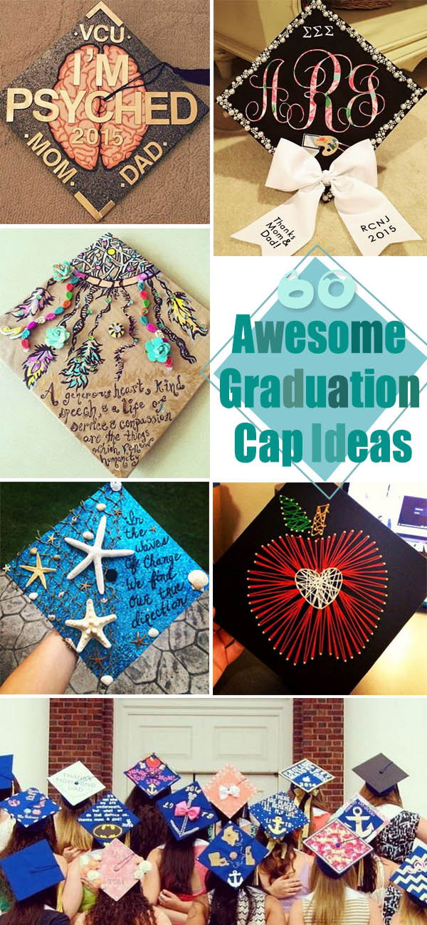 Awesome Graduation Cap Ideas!