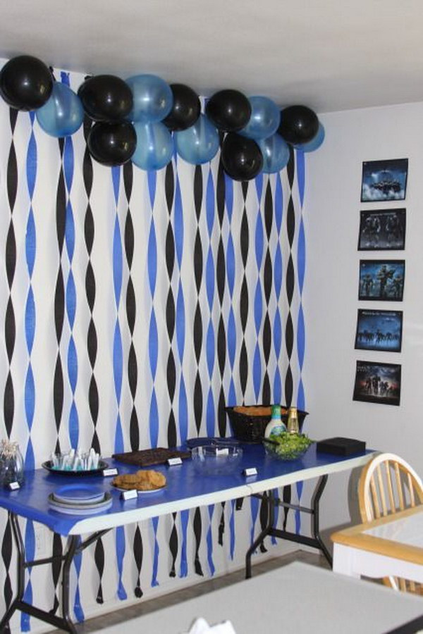 50 creative graduration party ideas noted list for Balloon decoration ideas for graduation