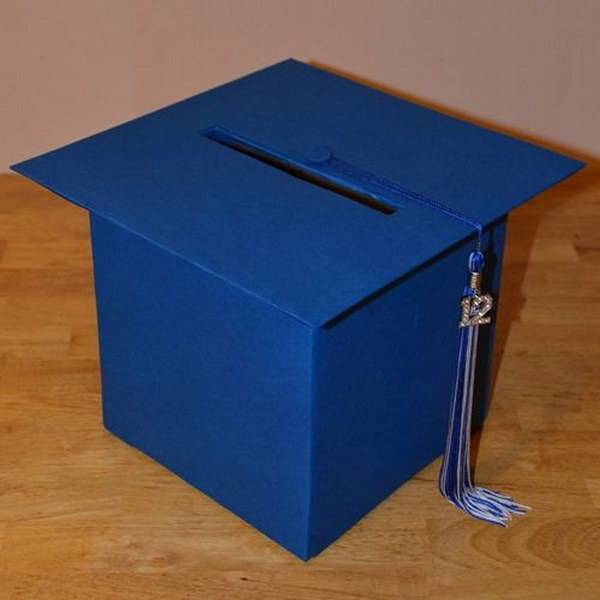 Graduation Hat Greeting & Gift Card Box