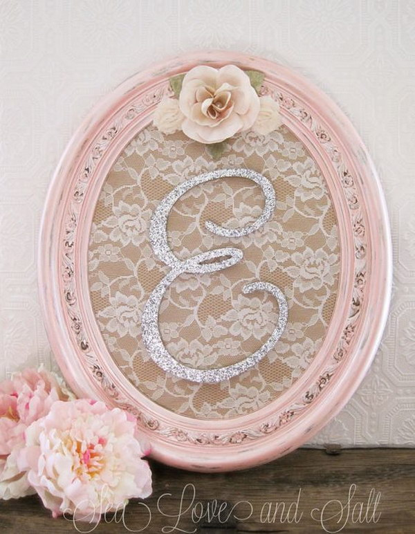 Shabby Chic Nursery Letters