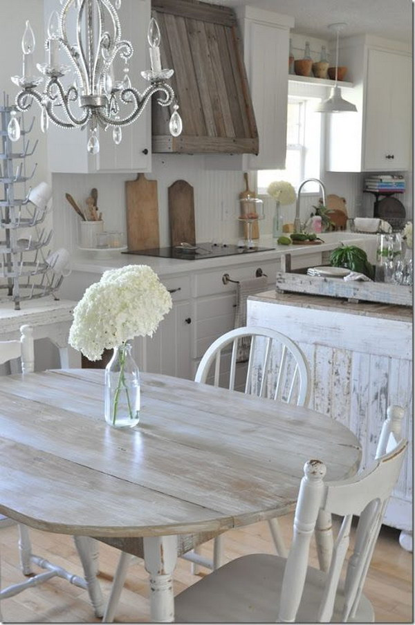 Awesome Shabby Chic Kitchen Designs Noted List
