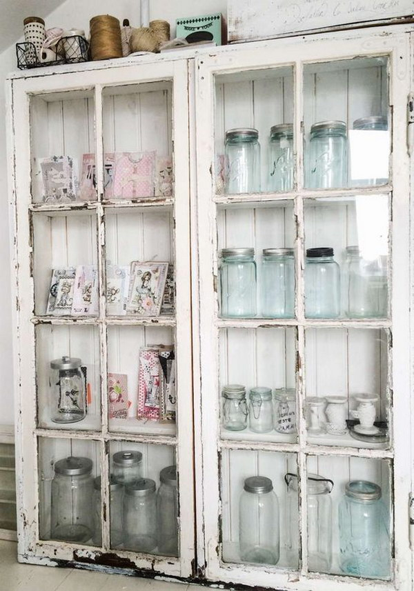 Shabby Chic Cupboard in the Kitchen.