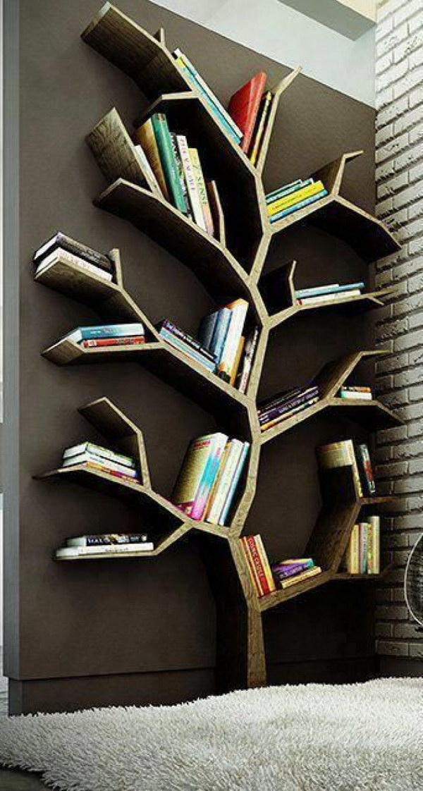 Tree Branch Bookshelf.